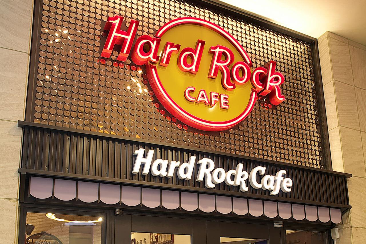 location hard rock cafe japan ハードロックカフェ ジャパン