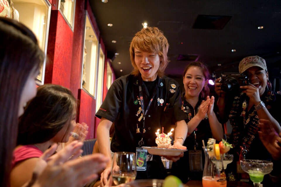 BIRTHDAY @ HARD ROCK CAFE | Hard Rock Cafe Japan – ハードロック ...